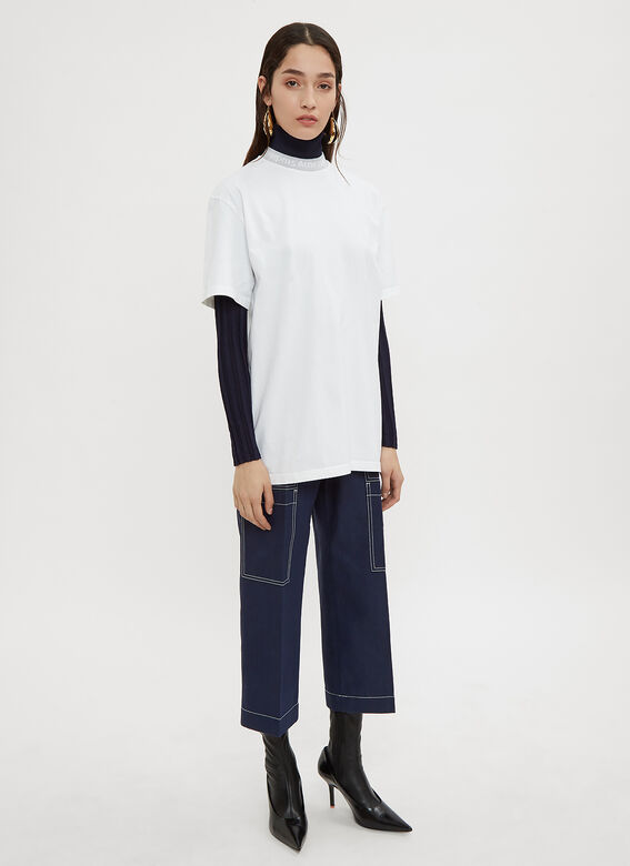 Acne Studios Iron D Cropped Jeans