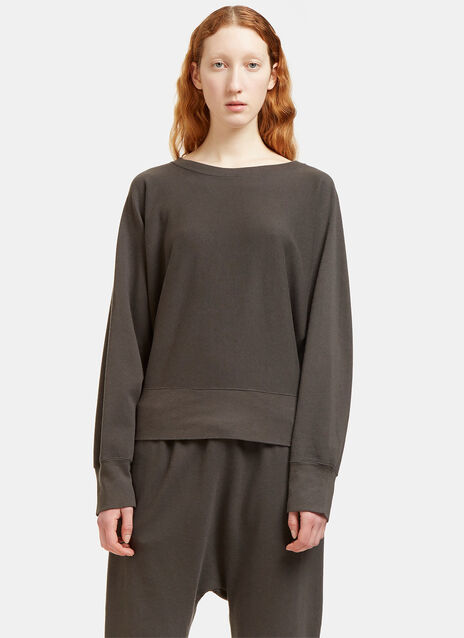 Oversized Batwing Sleeved Sweater