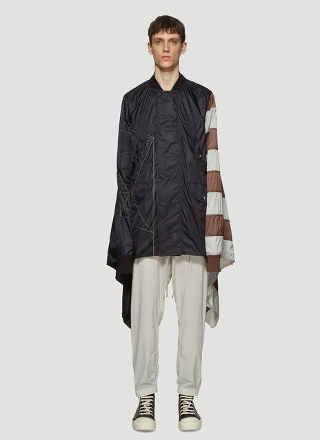 Rick Owens Flag Flight Jacket