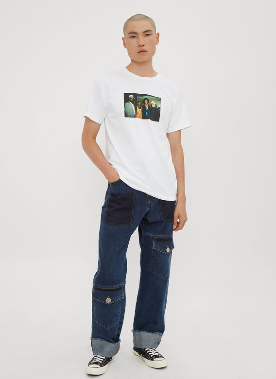 Infinite Archives Basquiat Warhol T-Shirt