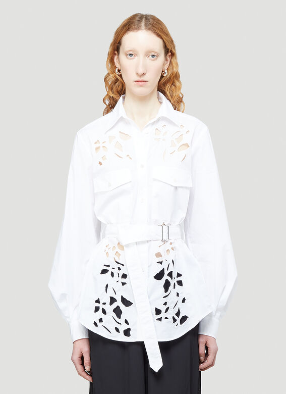 JW Anderson Cut-Out Bell Sleeve Shirt 1