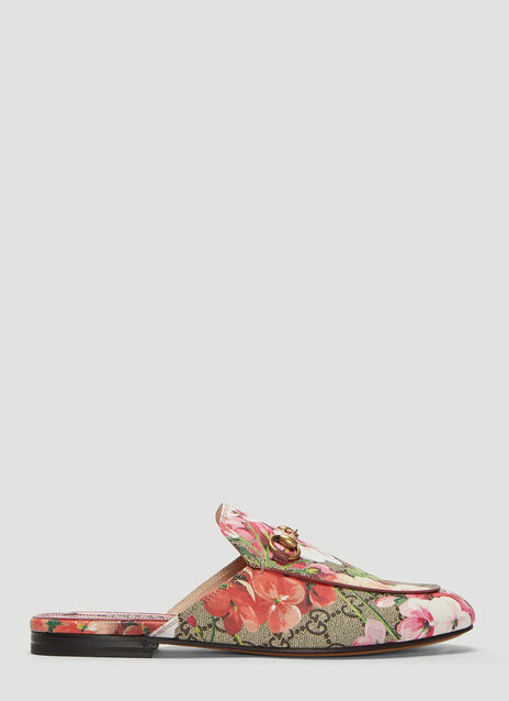 Gucci Ace Flower Embroidered Sneakers