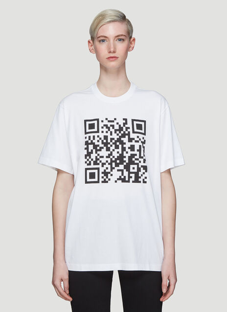 Vetements QR Code T-Shirt