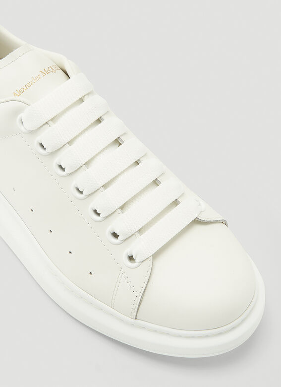 Alexander McQueen LARRY/LARRY LEATHER UPPER AND RU WHITE/WHITE 5