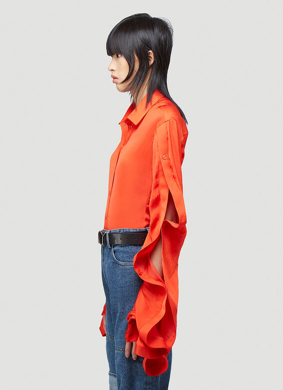 Y/Project RUFFLE SLEEVE SHIRT 3