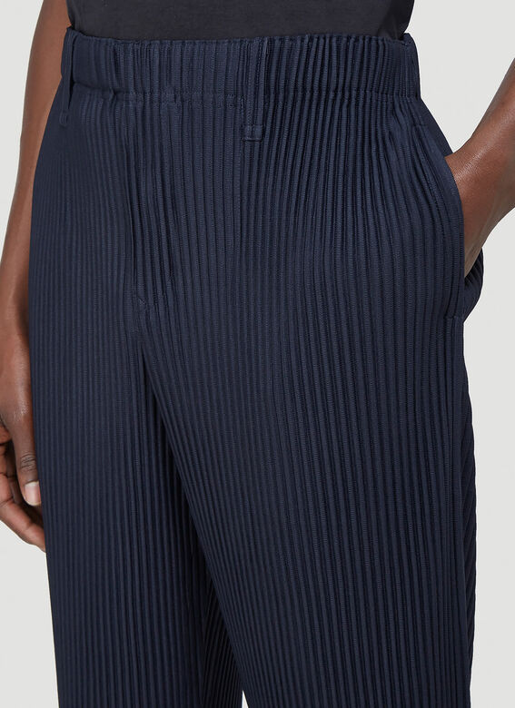Homme Plissé Issey Miyake Classic Pleated Pants 5