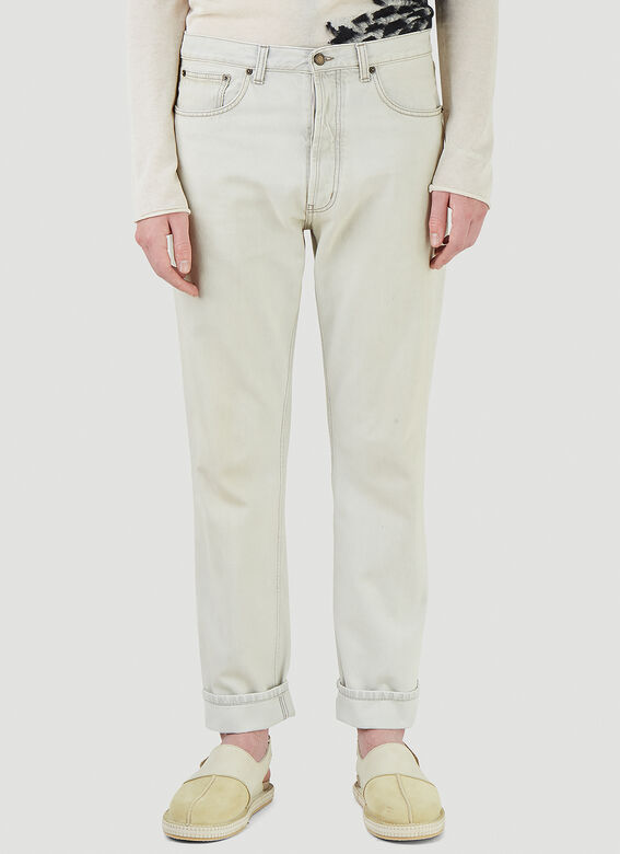 Saint Laurent RELAXED STRAIGHT JEA 1