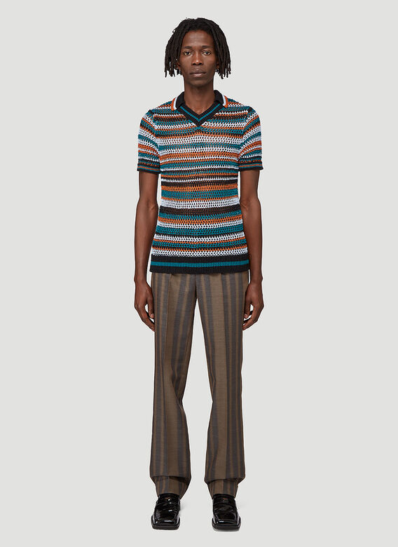 Wales Bonner ISAACS TAILORED TROUSERS 2