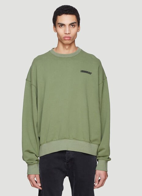 Unravel Project Motion Terry Crew Neck Sweater