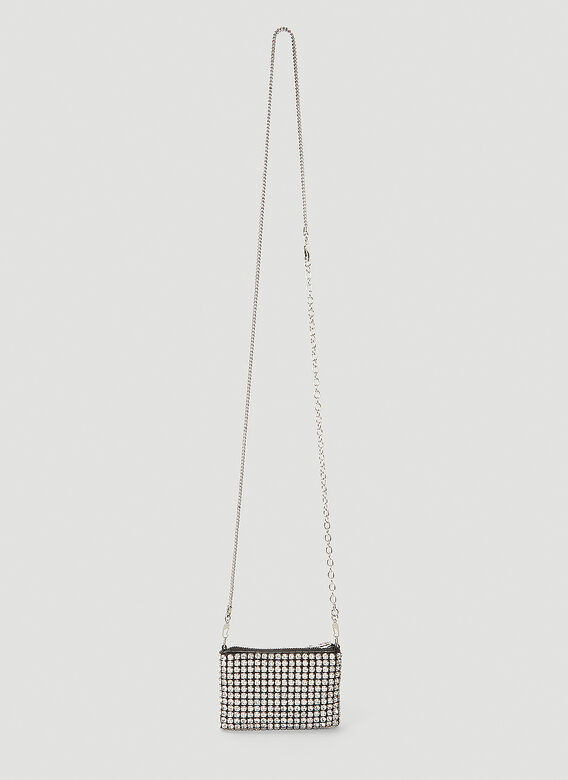 Alexander Wang Wangloc Rhinestone Mini Shoulder Bag 4