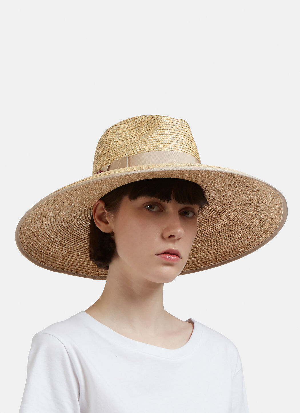 Embellished Straw Hat Gucci