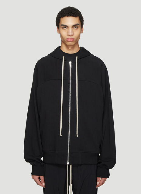 Rick Owens Hooded Sisyphus Windbreaker Sweater