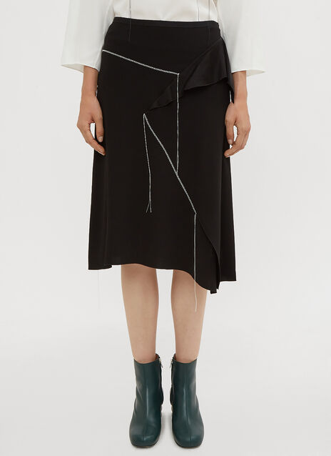 Marni Stitched Deconstructed Skirt