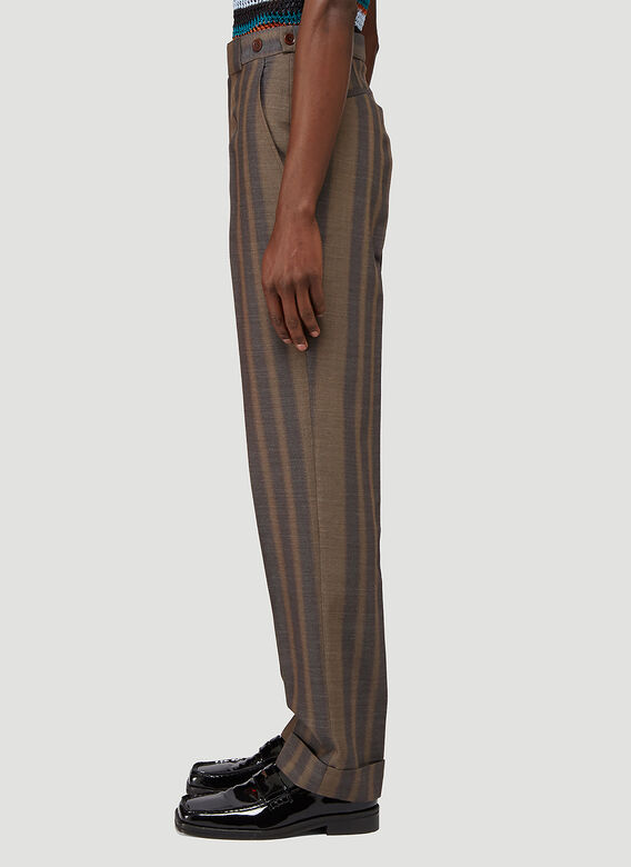 Wales Bonner ISAACS TAILORED TROUSERS 3