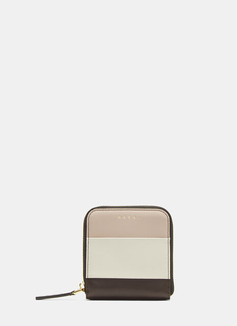 Marni Square Leather Wallet