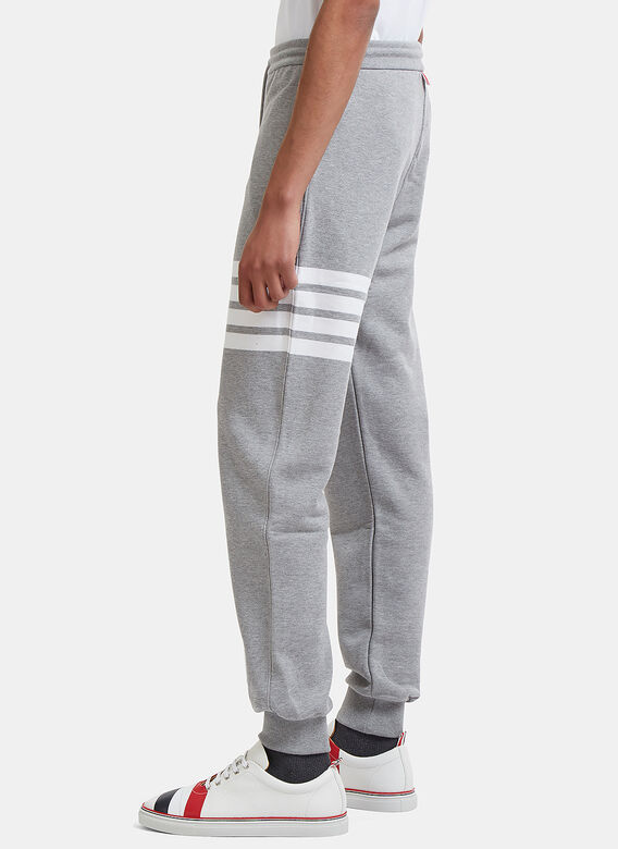 Thom Browne CLASSIC SWEATPANT WITH ENGINEERED 4-BAR IN CLASSIC LOOP BACK 3