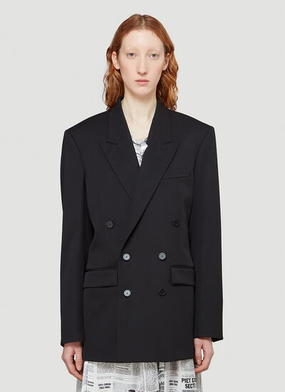 Balenciaga Double-Breasted Blazer