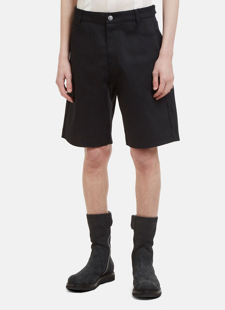 Raf Simons Replicants Denim Shorts