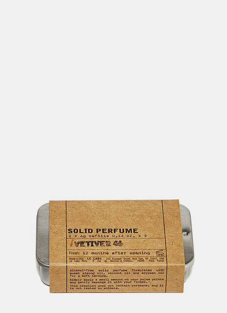 Le Labo Vetiver 46 Solid Perfume Refill Kit