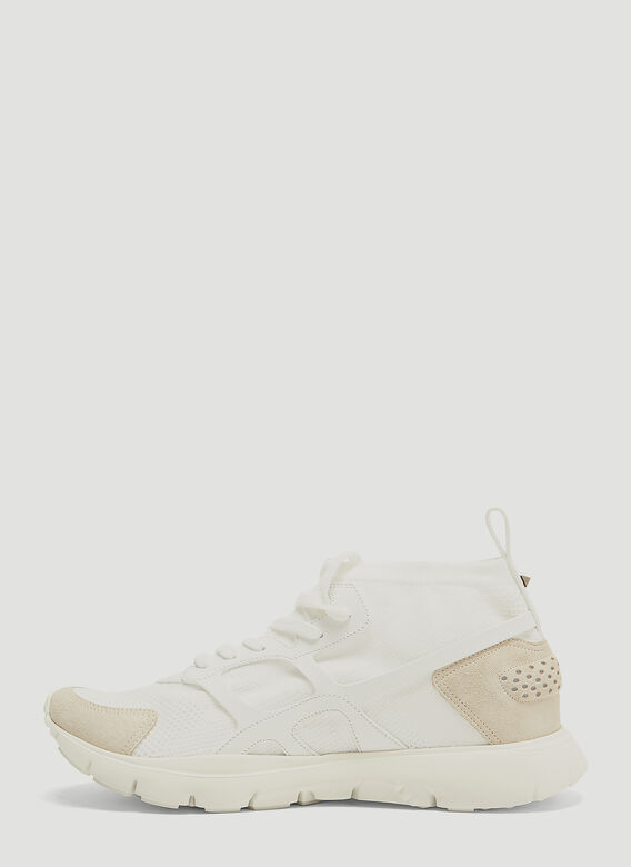 Valentino Sound High Knit Sneakers