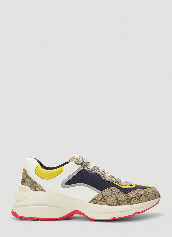 Gucci RHYTON DIRTY SNEAKER IN COLOURED PANELS 1