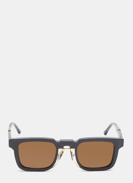 Kuboraum Mask N4 Matte Rectangular Sunglasses