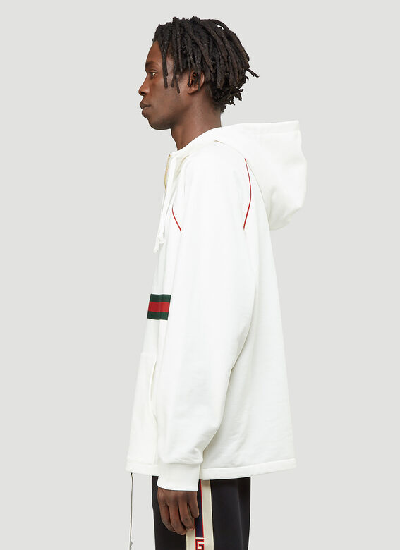 Gucci Half-Zip Hooded Sweatshirt 3