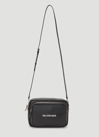 Balenciaga Everyday Leather Crossbody Bag