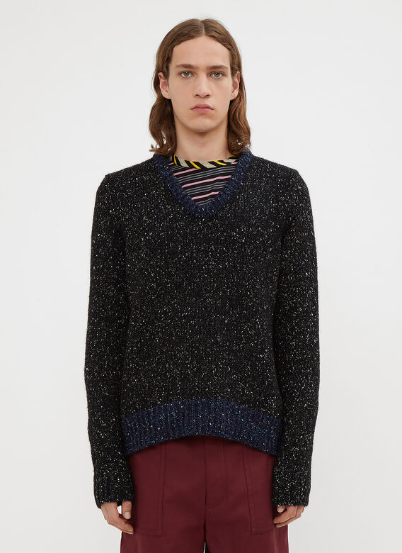 Marni Speckled Knit Sweater