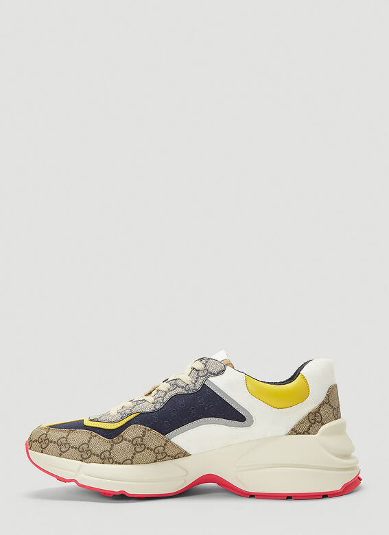 Gucci RHYTON DIRTY SNEAKER IN COLOURED PANELS 3