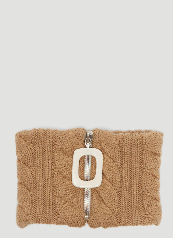 JW Anderson Cable Knit Neckband