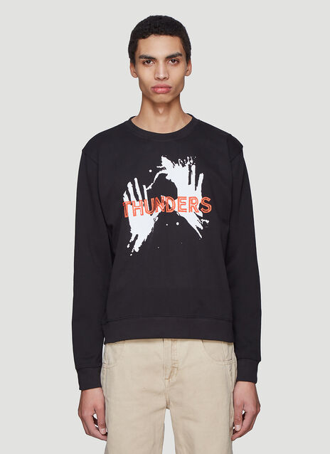Mr Thunders BLACKFONT Logo Sweater