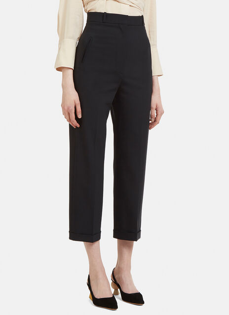 Jacquemus Cropped A Revers Pants