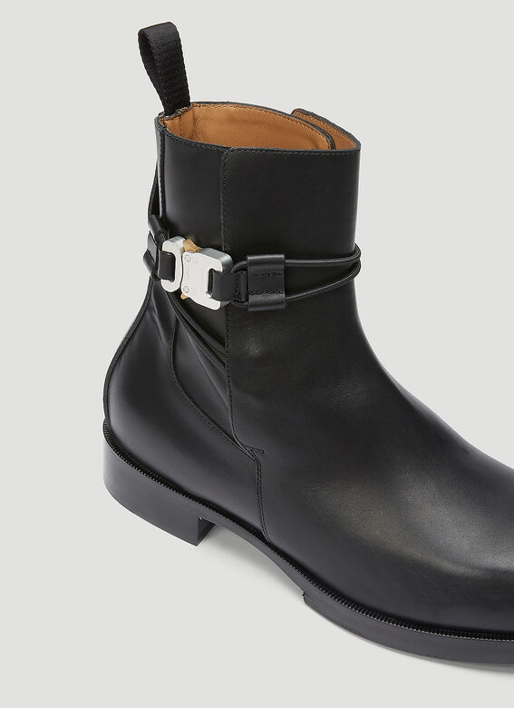 1017 ALYX 9SM Rollercoaster Buckle Leather Boots 5