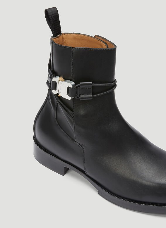 1017 ALYX 9SM LOW BUCKLE BOOT WITH LEATHER SOLE 5