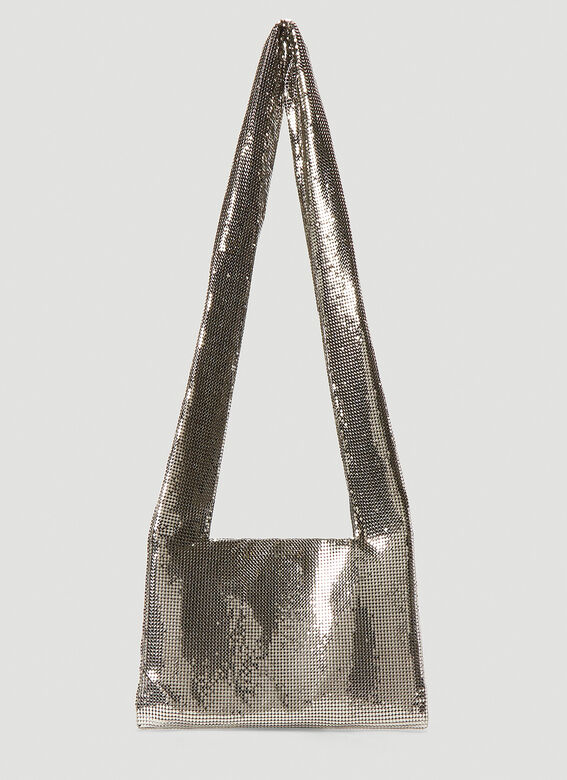 Kara Metal Mesh Crossbody Bag 4
