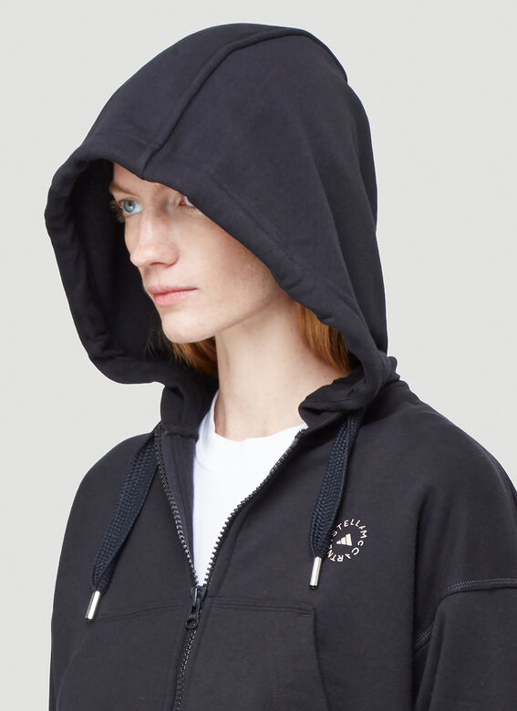 adidas by Stella McCartney FULL ZIP CROPPED HOODIE 5