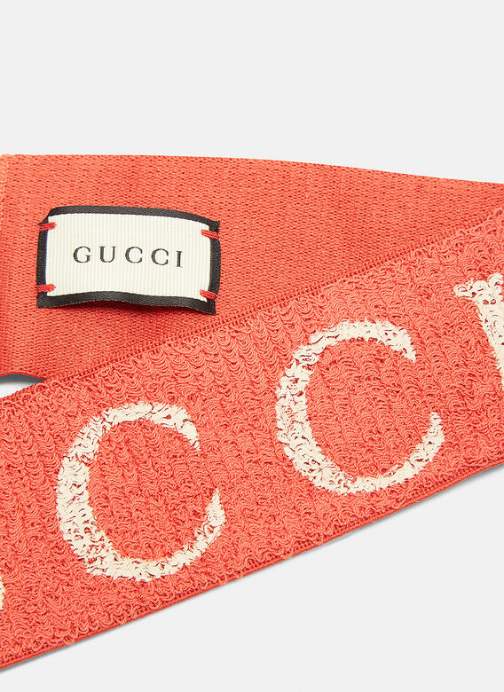 Gucci Logo Head Band Ln Cc