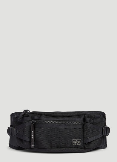 포터 Porter-Yoshida & Co. Heat Belt Bag in Black