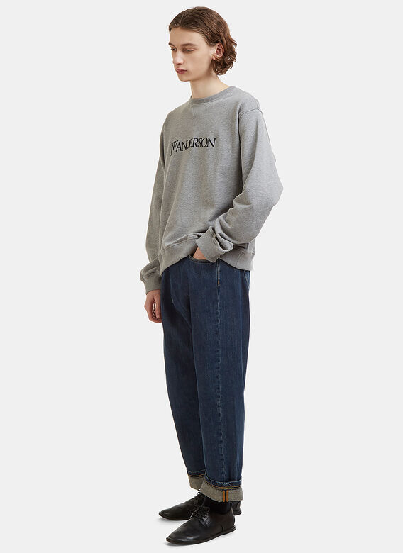 JW Anderson Embroidered Logo Sweater