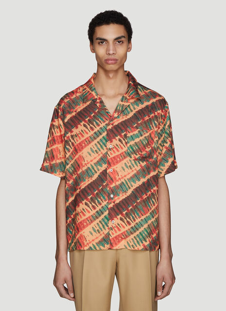 Missoni Short Sleeve Tie-Dye Shirt