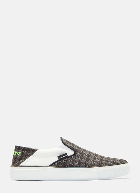 Vetements Printed Babouche Sneakers