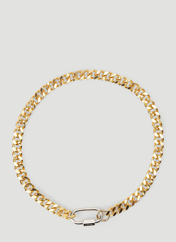 In Gold We Trust HEAVY CHAIN NECKLACE 1