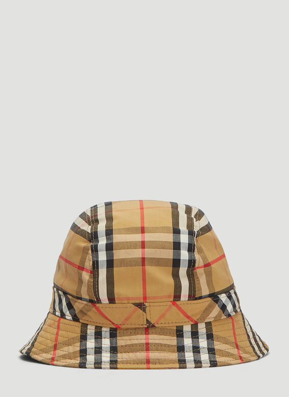 Burberry MH 2 PANEL BUCKET HAT:117330 4