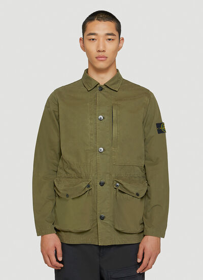 Stone Island Patch-Pocket Jacket