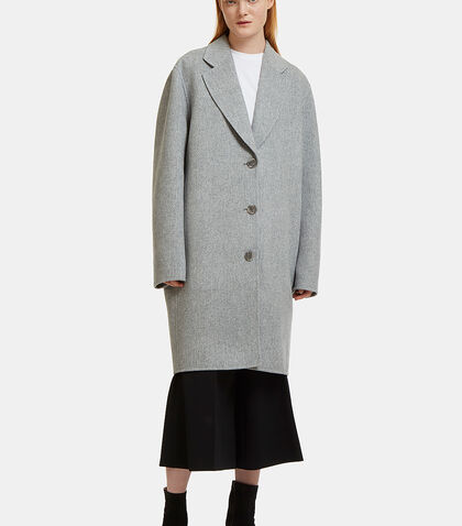 Landi Oversized Double-Faced Coat