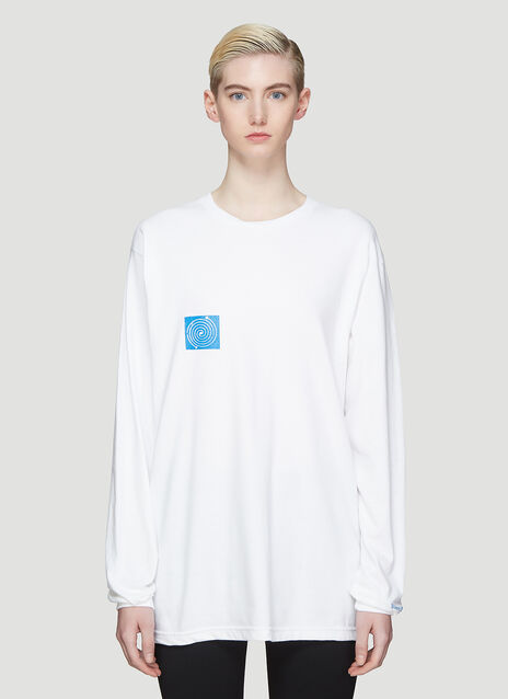 Silent Sound Loong Sleeve Remember T-Shirt
