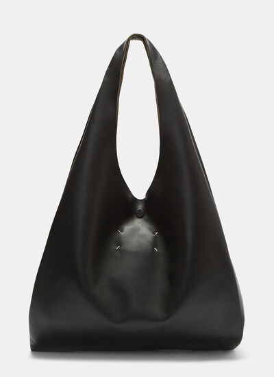 Maison Margiela Hobo Leather Tote Bag