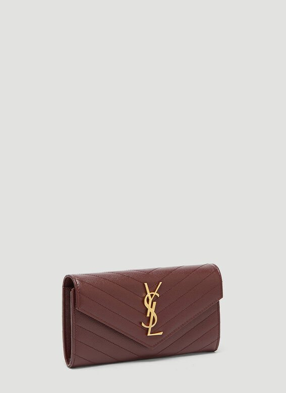 Saint Laurent Large Flap Wallet