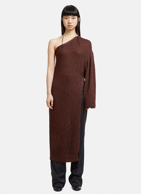Stella McCartney One Sleeve Knit Dress
